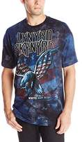 Liquid Blue Men's Lynyrd Skynyrd True Red White and Blue T-Shirt