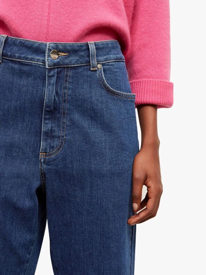 Thumbnail for your product : Gerard Darel Irina Denim Jeans, Blue