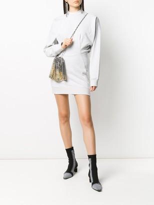 Alexander Wang Crew Neck Sweatshirt Dress