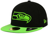 New Era Seattle Seahawks Colors 59FIFTY Cap