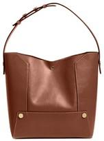 Stella McCartney Popper Faux Leather Bucket Bag - Brown