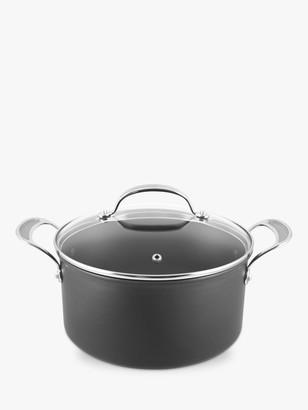 Jamie Oliver by Tefal Hard Anodised Aluminium Non-Stick Stock Pot, 24cm