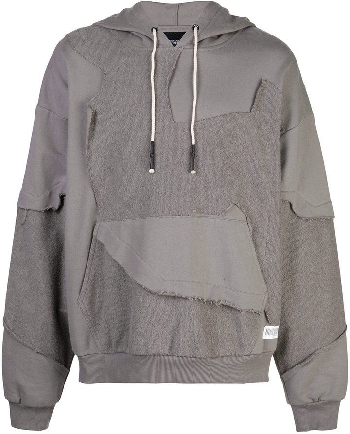 Mostly Heard Rarely Seen Cut Me Up drop shoulder hoodie