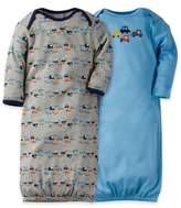 Gerber 2-Pack Cars Gowns