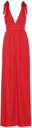 Rebecca Vallance Harlow Bow maxi dress