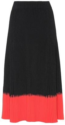 Alexander McQueen Ribbed skirt