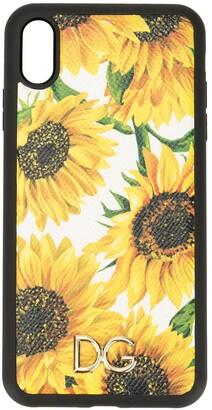 Dolce & Gabbana sunflower print iPhone XS Max case