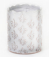 Mud Pie France Collection Fleur de Lis Terracotta Utensil Holder