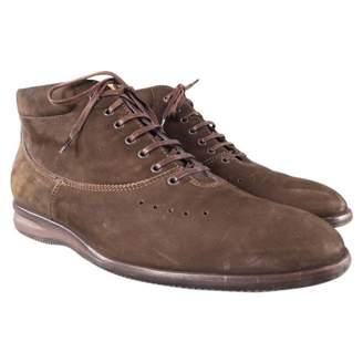 John Lobb Brown Leather Boots