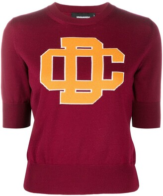 DSQUARED2 College Style Knit Jumper