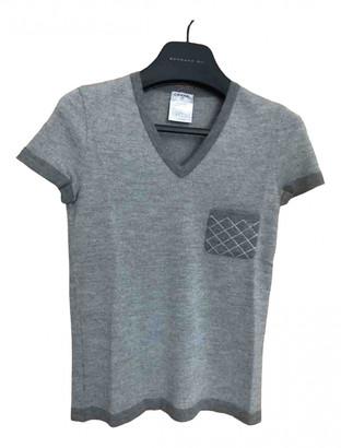 Chanel Grey Cashmere Knitwear