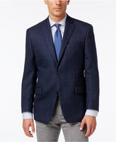 MICHAEL Michael Kors Men's Classic-Fit Blue Neat-Patterned Sport Coat