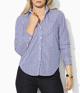 Lauren Ralph Lauren Plus Wrinkle-Free Slim Dress Shirt