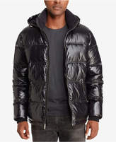 Sean John Men's Shiny Puffer Jacket