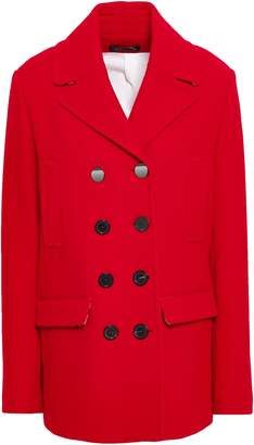Piazza Sempione Double-breasted Wool-blend Coat