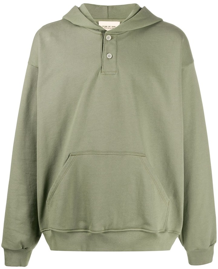 Fear Of God Oversized-Fit Cotton Hoodie