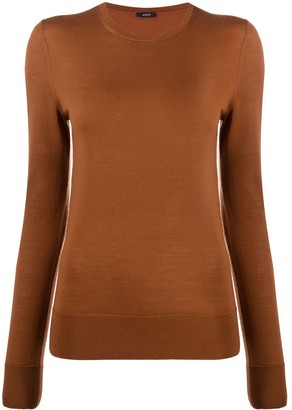 Joseph Round Neck Knitted Top