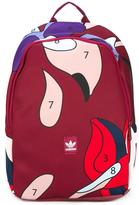 adidas abstract print large backpack