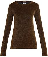 Junya Watanabe Long-sleeved lurex knit sweater