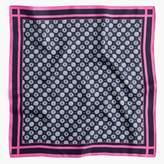 J.Crew Italy silk foulard scarf