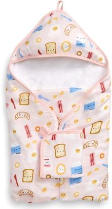 Loulou Lollipop Muslin Hooded Towel & Washcloth Set