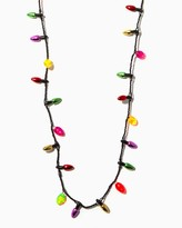 Charming charlie Christmas Bulb Necklace