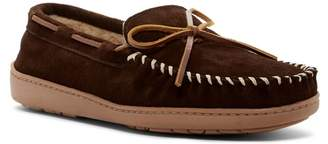 Minnetonka Tory Trad Trapper Faux Fur Lined Moccasin (Men)