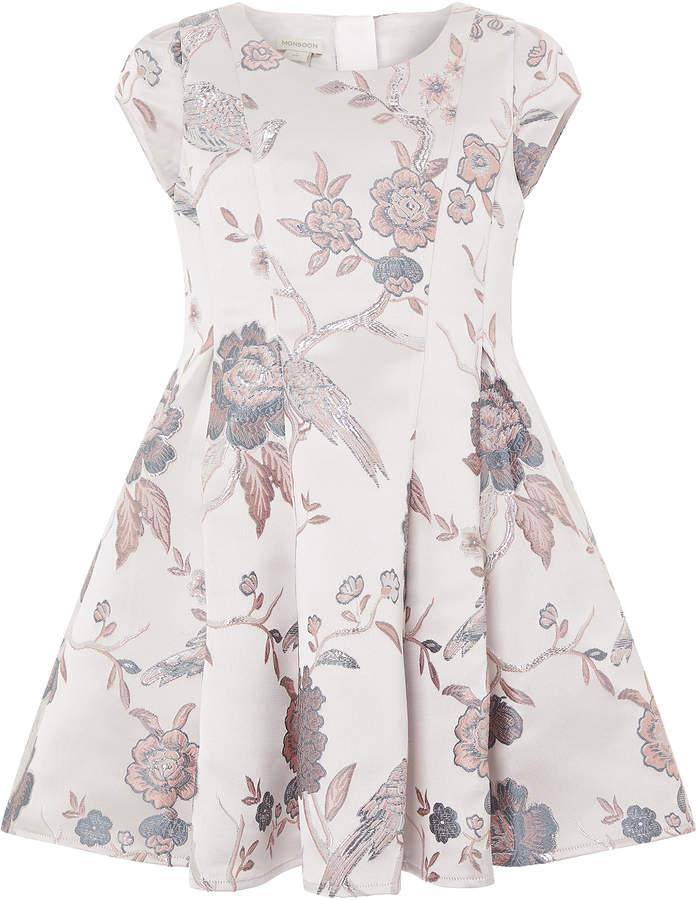 Monsoon Brielle Jacquard Dress
