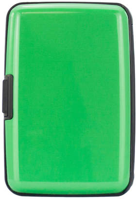 Miami CarryOn Metallic Rfid Wallet Credit Card Holder
