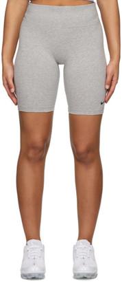 Nike Grey Leg-A-See Bike Shorts