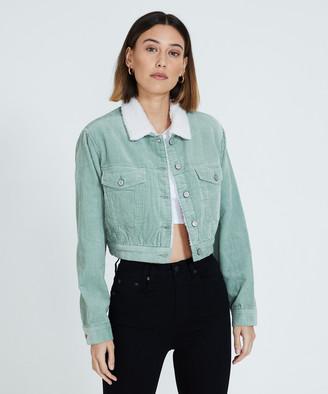 Insight Dakota Cord Jacket Green