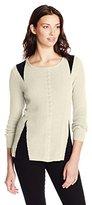 Nic+Zoe Women's Stitched Knit Top