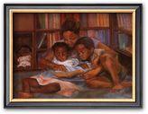 """Art.com The Reading Art"""" Framed Art Print by S. Wilson"""
