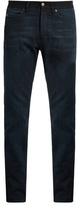 Lanvin Contrast Waistband Slim-leg Jeans