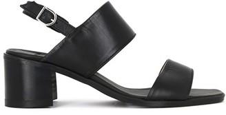 Royal Republiq - Black Town Leather Strap Sandal - 36