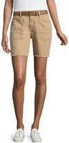 UNIONBAY Union Bay Belted Bermuda Shorts-Juniors