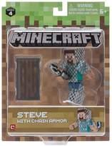 "Minecraft Minecraft 3"" Action Figures - Steve In Chain Armour"