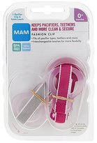 Mam Fashion Pacifier Clip w/ Extra Band - Blue