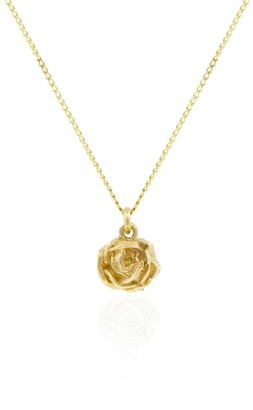 Lee Renee Rose Necklace Gold