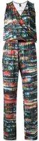 Lygia & Nanny - abstract print jumpsuit - women - Polyester/Spandex/Elastane - 40