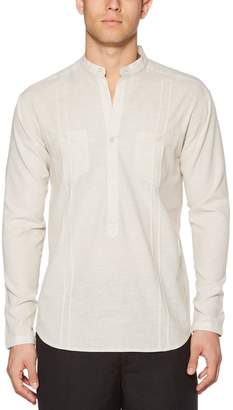 Cubavera Two-Pocket Popover Shirt