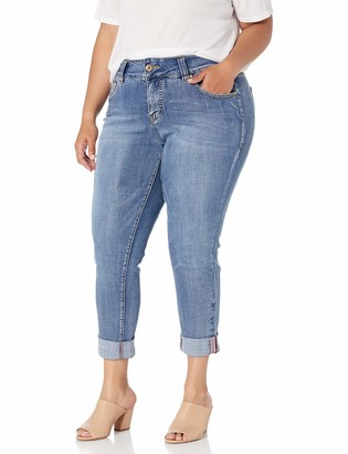 Jag Jeans Women's Plus Size Carter Girlfriend Jean