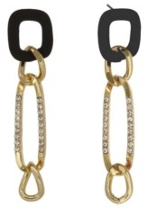 Christian Siriano New York Christian Siriano Gold Tone Linear Link Earrings
