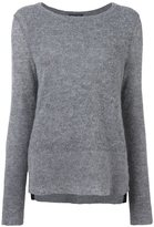 Rag & Bone classic pullover - women - Lamb Skin/Nylon/Wool/Alpaca - S