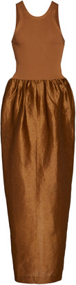 Totême Nonza Linen-Blend Maxi Dress