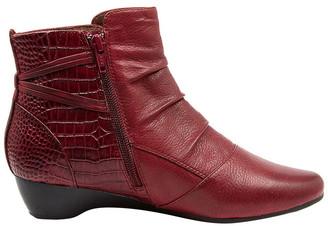 Supersoft By Diana Ferrari Dallas Boot Dark Crimson