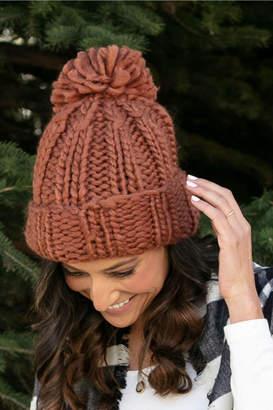 Grace & Lace Knit Pom Hat