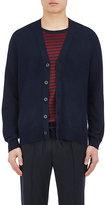Vince Men's Mixed-Stitch Cotton-Blend Cardigan