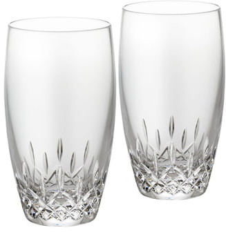 Waterford Lismore Essence Set of 2 Lead Crystal Highball Glasses