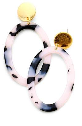 Wild Lilies Jewelry Tortoise Hoop Earrings